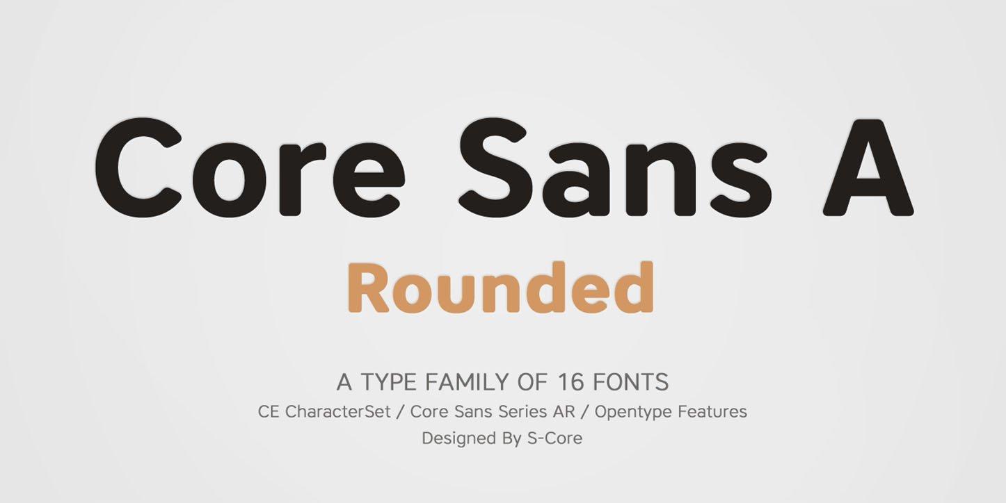 Core Sans Ar Font