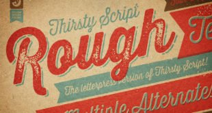 Thirsty Rough Font 310x165 - Thirsty Rough Font Free Download