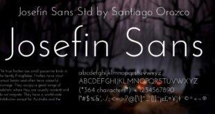 Josefin Sans Font Family 310x165 - Josefin Sans Font Family Free Download