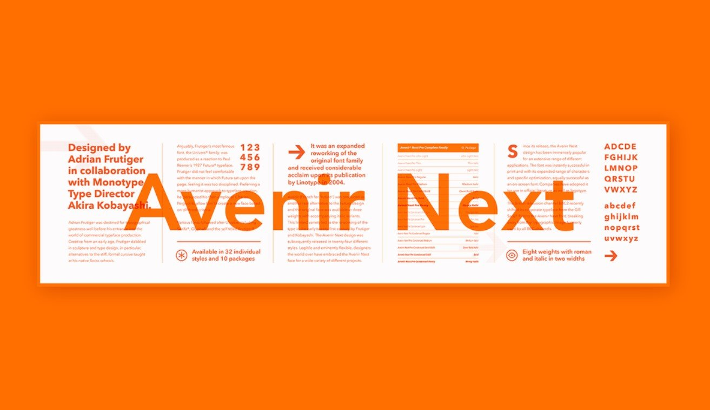 avenir next free - Avenir Next Font Free Download