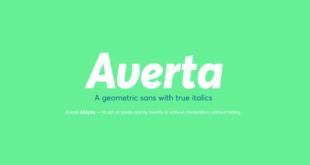 Averta Font 310x165 - Averta Font Free Download