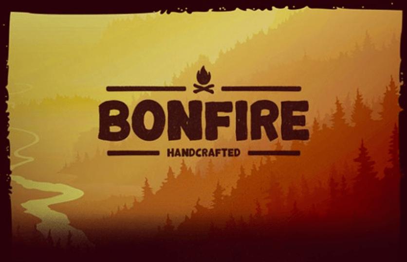 Bonfire Script Font
