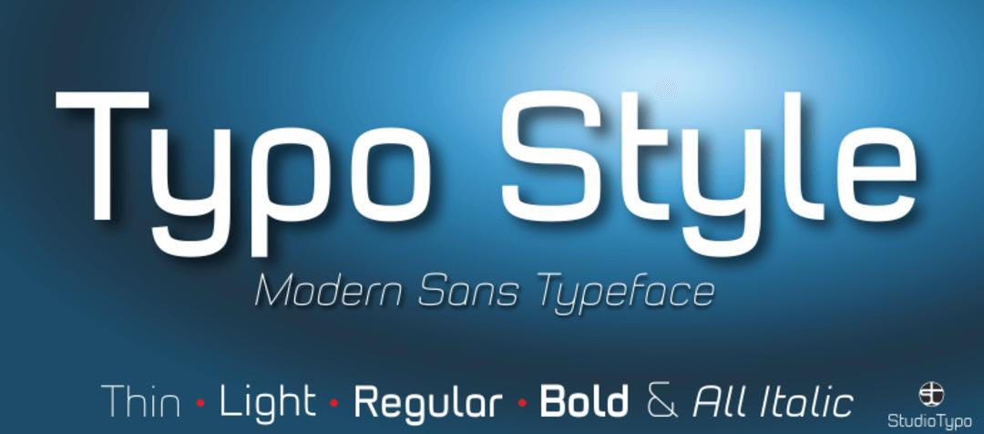 Typo Style Font