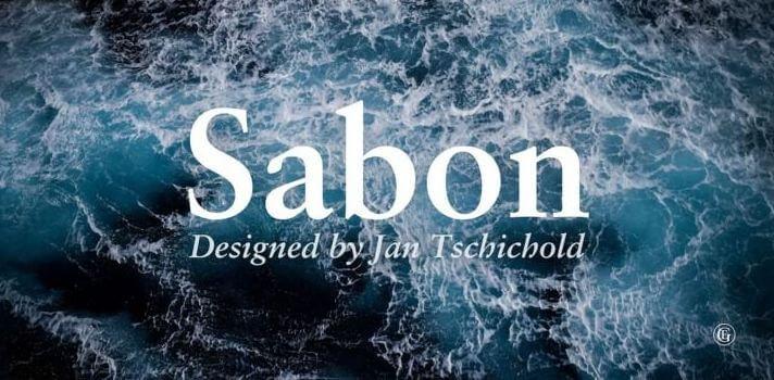 sabon font - Sabon Font Free Download