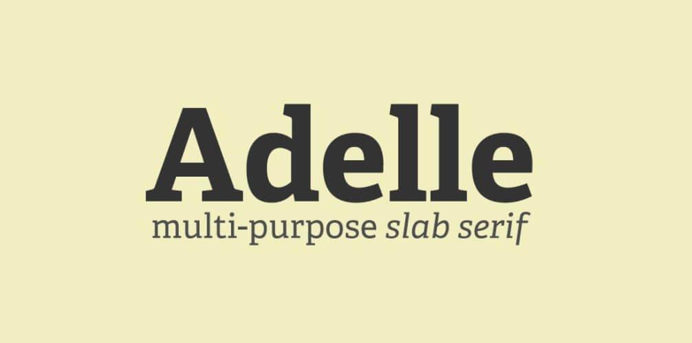 Adelle Font