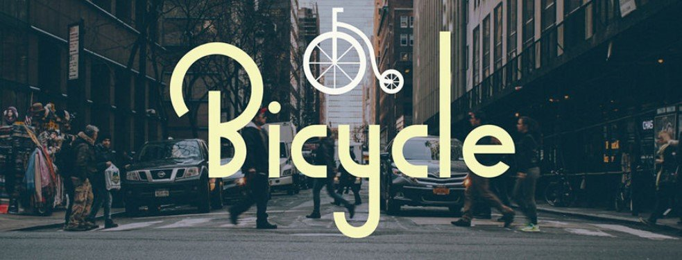 Bicycle Sans Serif Font Family