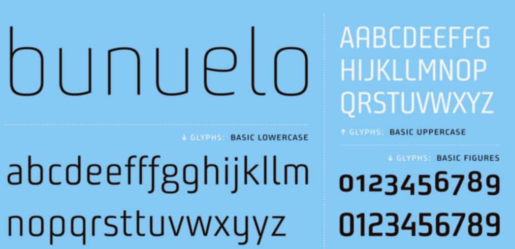 Bunuelo Clean Pro Font