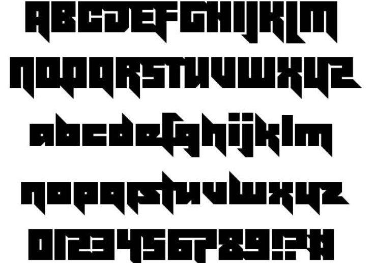 Effective Power Font - Effective Power Font Free Download