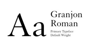 Granjon Font 310x165 - Granjon Roman Font Free Download