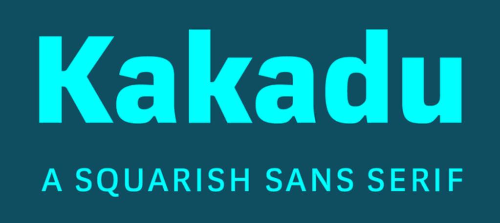 Kakadu Font