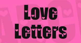 Love Letters Font 310x165 - Love Letters Font Free Download