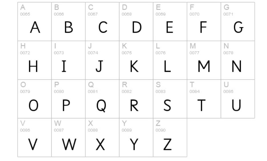 Sassoon Infant Std Font