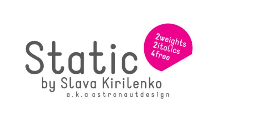 Static Font