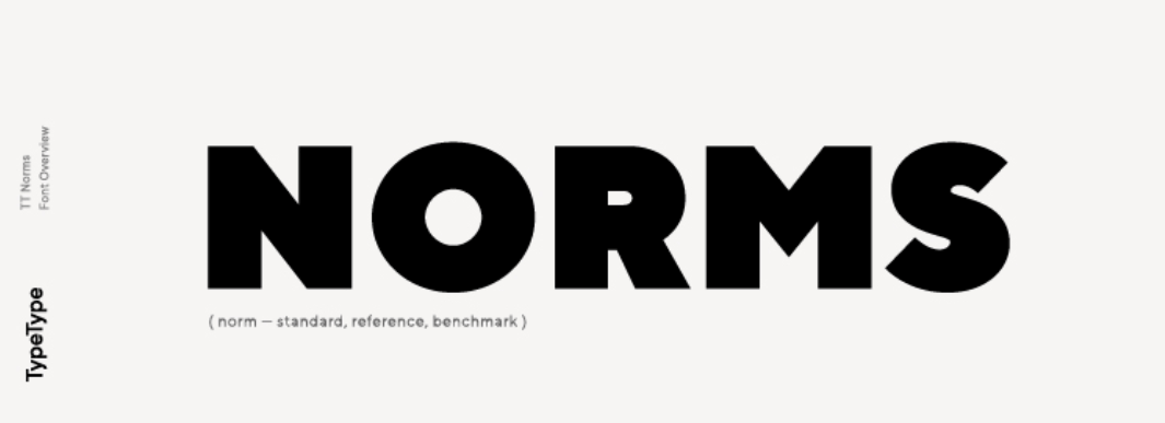 TT Norms Font