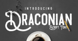 Draconian Font 310x165 - Draconian Font Free Download