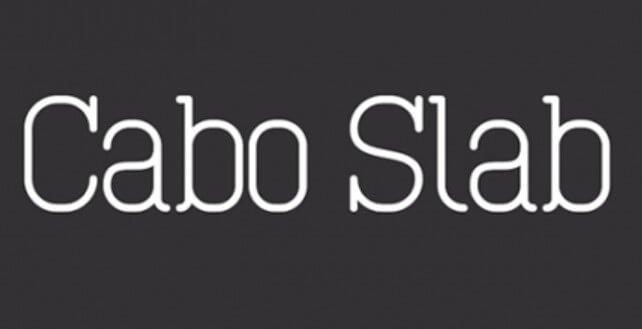 Cano Slab Font