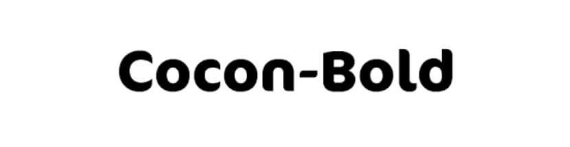 Cocon Bold Font