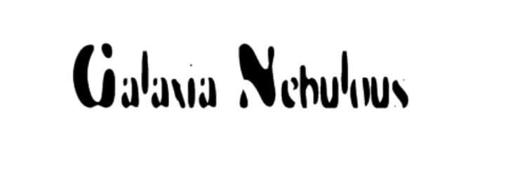 Galaxia Nebulous Font