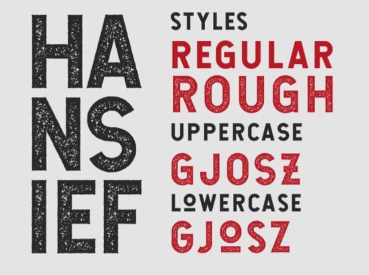 Hansief Font