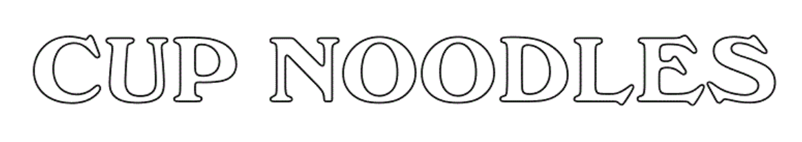 Noodle Shaded Font