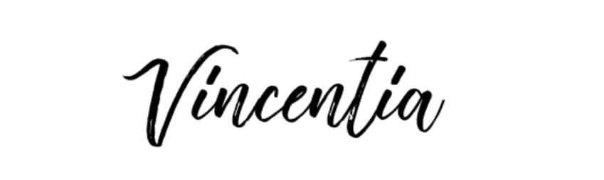 Vincentia Script Font