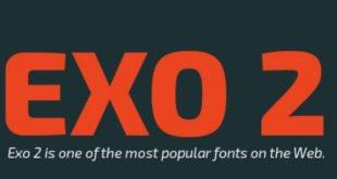 Exo 2 Font 310x165 - Exo 2 Font Family Free Download