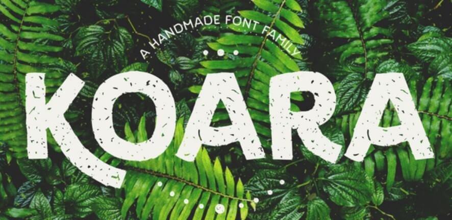 Koara Font Family