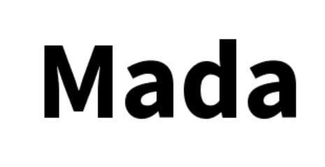 Mada Font