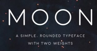 Moon Typeface 310x165 - Moon Typeface Free Download
