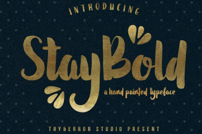 Stay Bold Typeface