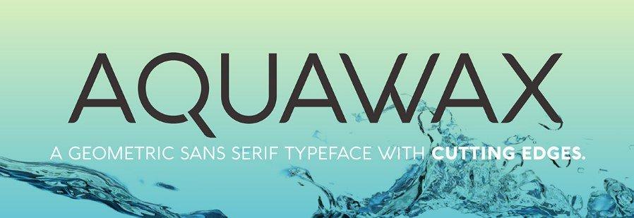 Aquawax Font