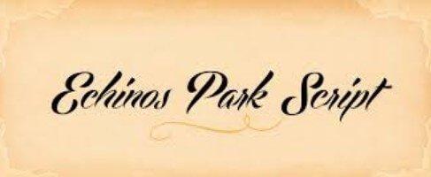 Echinos Park Script Font