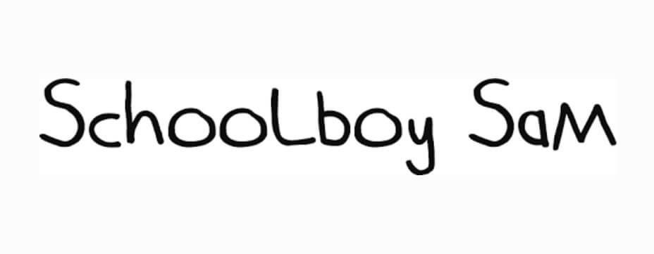 Schoolboy Sam Font