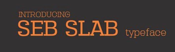 Seb Slab Font