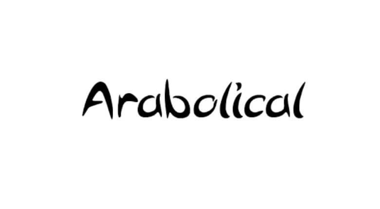 Arabolical Font