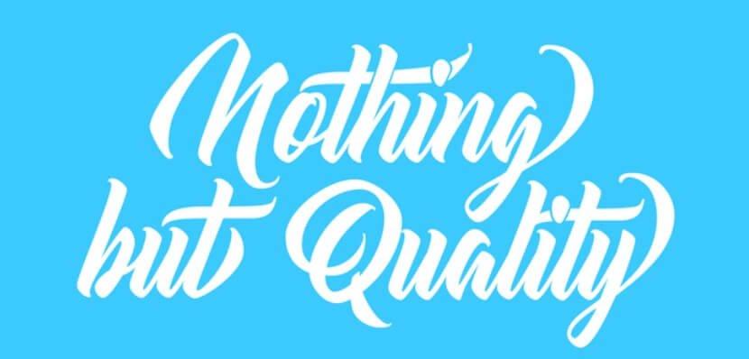 Atlantica Calligraphy Typeface