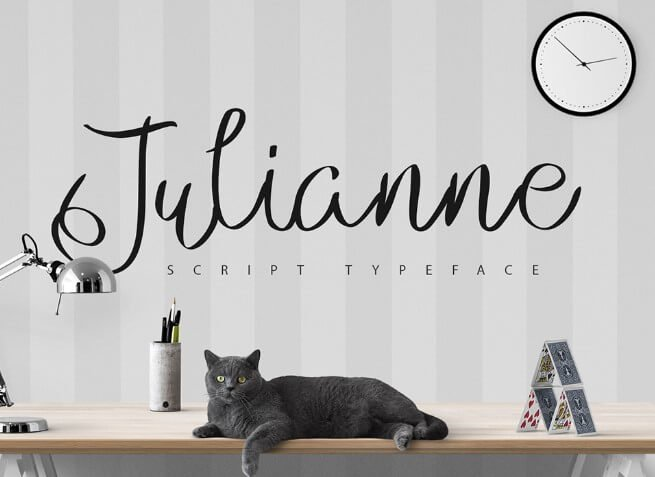 Julianne Script Typeface