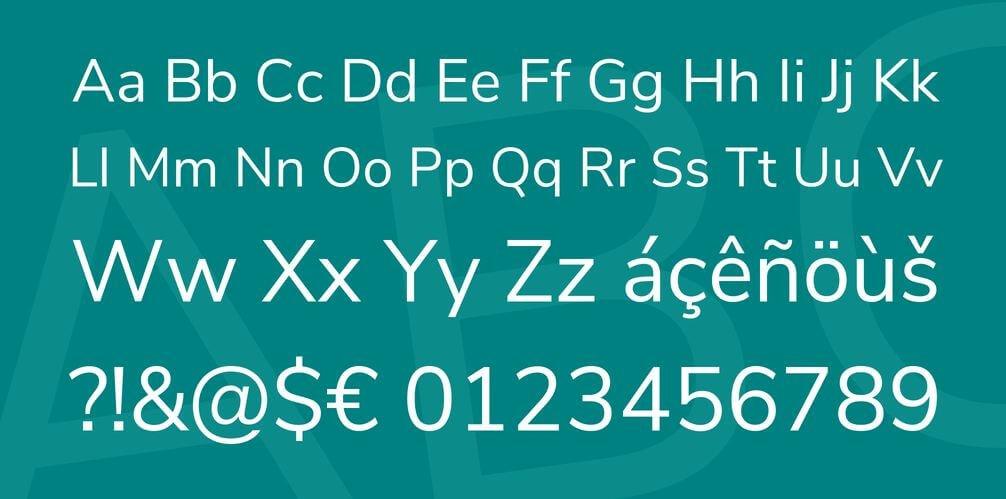nunita sans font - Nunito Sans Font Free Download