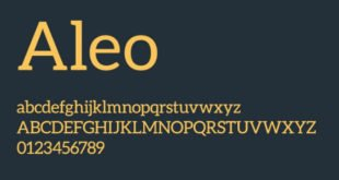 Aleo Font Family 310x165 - ALEO Font Family Free Download