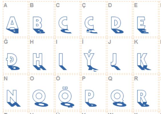Backlit Font - Backlit Font Free Download