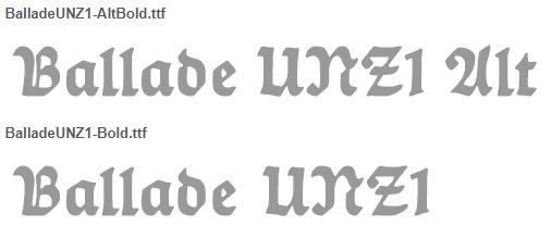 Ballade Bold Font - Ballade-Bold Font Free Download