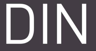 DIN Font 310x165 - DIN Font Free Download
