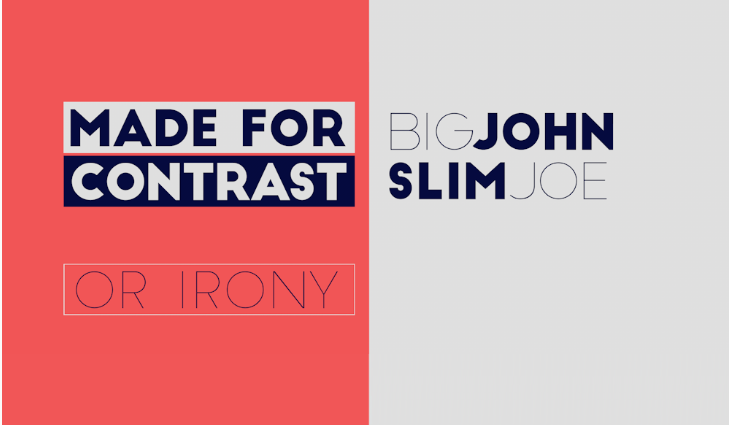 Big John Slim Joe Font - Big John Slim Joe Font Free Download