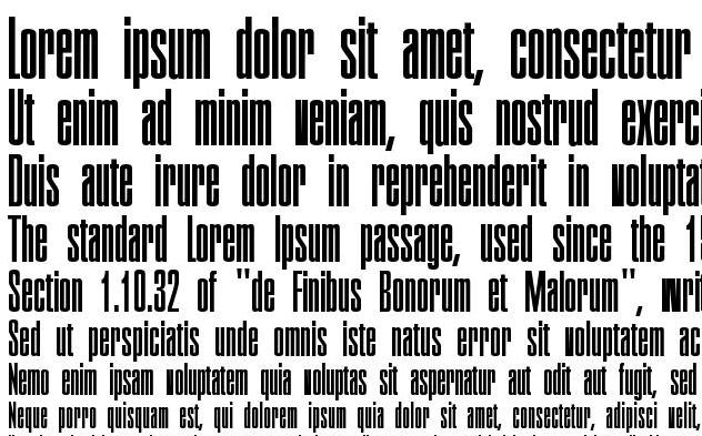 Executive Font - Executive Font Free Download