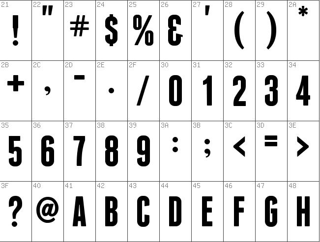 FRANCHISE Font - Franchise Font Free Download