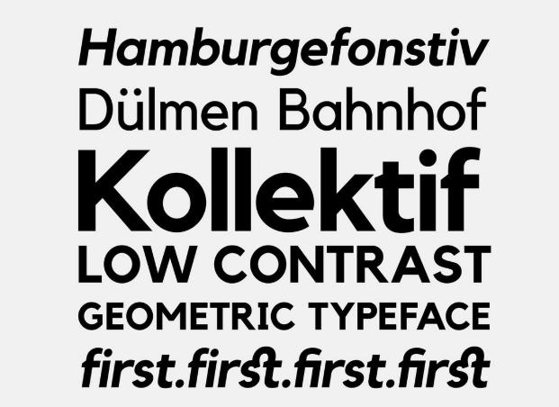 Kollektif Typeface Font - Kollektif Typeface Font Free Download
