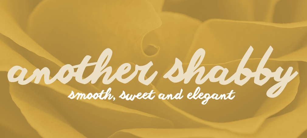 Another shabby Font Family - Another Shabby Font Family Free Download