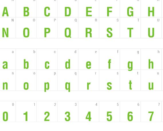 VNI Helve Condense Font - VNI-Helve-Condense Font Free Download