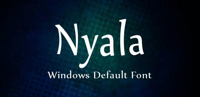 nyala-font