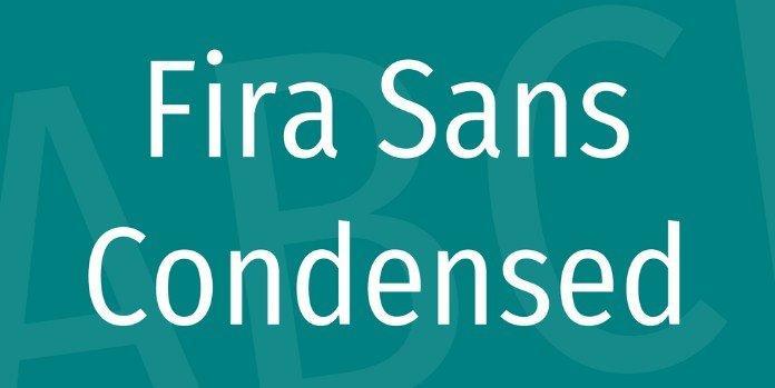 Fira Sans Font